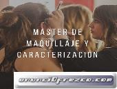 MÁSTER DE MAQUILLAJE Y CARACTERIZACIÓN