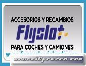 ACCESORIOS Y RECAMBIOS FLYSLOT PARA SCALEXTRIC EN DIEGO COLECCIOLANDIA