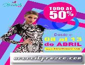 Oferta limitada del 50% en Baruch Moda