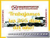 (PORTAL A PORTAL)TRANSPORTES EN BARAJAS EN MADRID