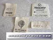 Etiqueta algodón ecológica para bebés