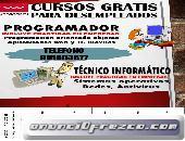 CURSOS GRATIS PARA TRABAJADORES Y DESEMPLEADOS