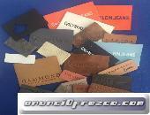 Etiquetas piel para tejanos