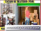 TRANSPORTES POR HORAS EN ALCORCON (PORTES 40€)