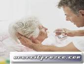 Cuido ancianos y pacientes en hospitales y clinicas