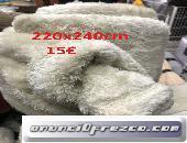 mantas térmica poliester forro polar diseñada para mantener el calor