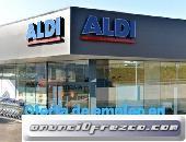 Supermercados ALDI requiere empleados en España