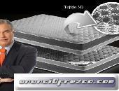 COLCHON VISCOELASTICA Y CARBONO ACTIVO Memory Lux