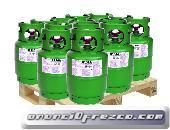 Gas R410A, R134A, R404A, R407C, R32