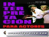 Curso intensivo de interpretación para actores