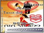 TAROT DEL AMOR SINCERO 910311422/806002128 0,42/0,79cm € min red fija/móvil.