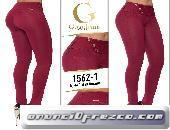 Variedad en pantalones levanta cola