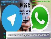 Número Anónimo de WhatsApp Español 2