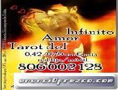 4€ 15 min/ 6€ 20min  Mi Infalible Lectura del Tarot y Mi Don de Clarividencia  Te Guiaran  910311422
