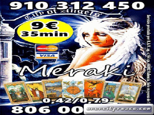 MERAKI 4€ 15 min.7€ 25 min. 910312450-806002109