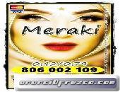 MERAKI 4€ 15 min. 910 312 450-806 002 109 VIDENTES Y TAROTISTAS