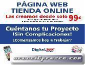 Página web y tiendas online