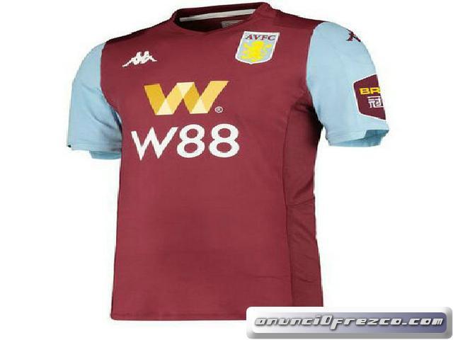 Camiseta de Aston Villa casa 2019 2020