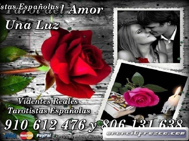 Tarot del Amor Una Luz Videntes de Confianza 806 a 0.42€/min...