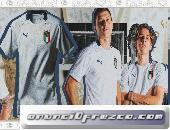 venta segunda camiseta de Italia baratas 2020-21