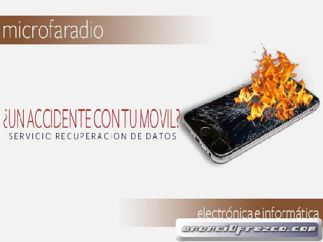 RECUPERACIÓN DATOS DE TU TELÉFONO  MOVIL