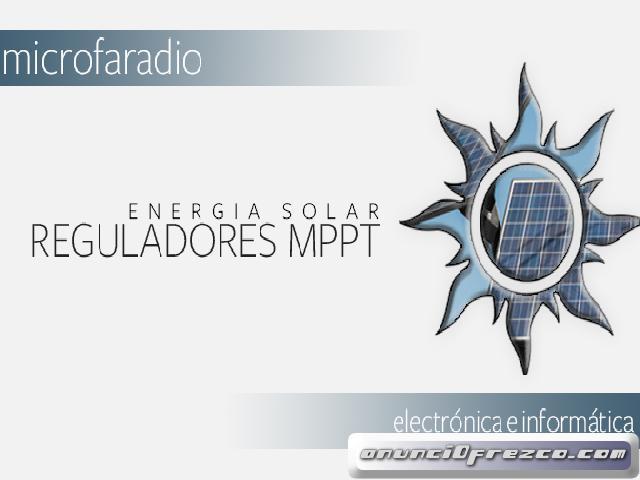 REPARACION REGULADORES MPPT PANELES SOLARES