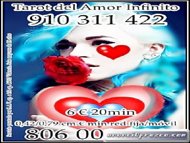 ¿Piensa en mi?  CLARA Y DIRECTAS   910311422- 806002128 OFERTAS TODA VISA 4€ 15min