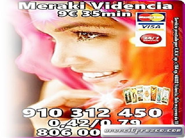 MERAKI ESPECIALISTAS EN TAROT Y VIDENCIA NATURAL OFERTAS VISA 910312450-806002109