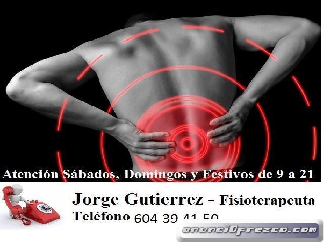 Fisioterapeuta Urgencias Sierra Madrid