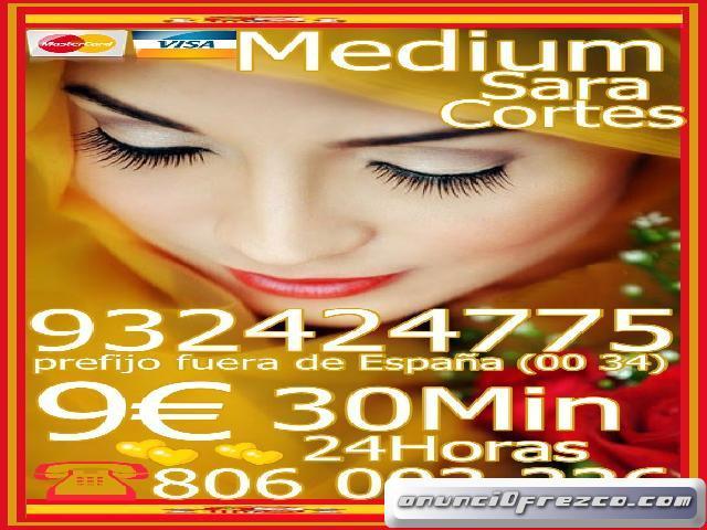 Videncia Sara Cortes Hechicera 932 424 775 desde 4€ 15mts, 7€ 20mts y 9€ 30 mtos.de españa