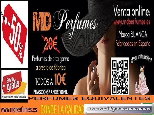 Perfume Equivalente altas gama  7.5 LOVEE Nº117 Hombre 10€  100ml