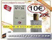 Perfume Mujer Equivalente altas gama  Nº438 AGUA FRIA DE ROSA BLANQUITAS 10€  100ml 2