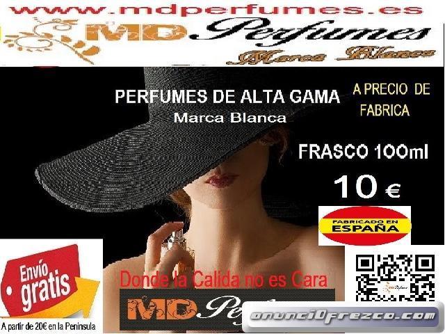 Perfume Mujer Equivalente altas gama  Nº438 AGUA FRIA DE ROSA BLANQUITAS 10€  100ml