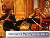 Violinista, chelo, flauta, bodas, eventos, toda Cataluña