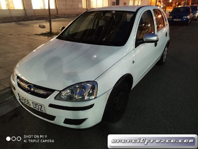 Opel Corsa blanco,1500€