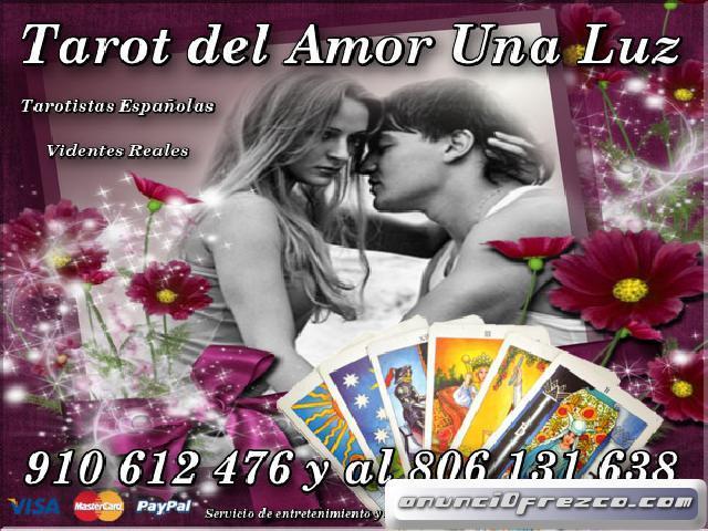 Videncia y Tarot del Amor Una Luz  8€/15m.