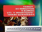 Tarot 30 minutos 5 euros visa