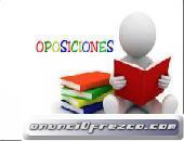 Preparo individual , oposiciones on line, y presencial