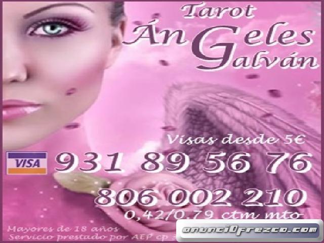 Tarot visa Ángeles Galván