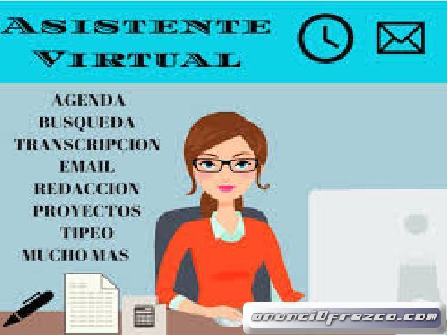 Asistente administrativo(a) medio tiempo