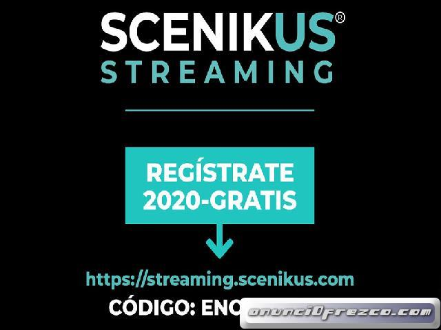 ¡ESPECTÁCULOS EN STREAMING, GRATIS!
