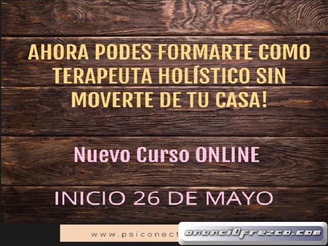 CURSO TERAPEUTA HOLISTICO