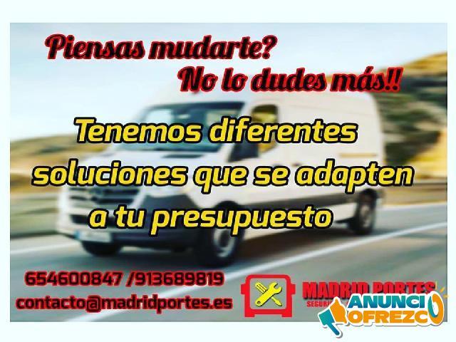 PRECIOS MUDANZAS Y PORTES-FLETES ESPAÑA