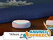 Echo Dot 3.ª generación- Altavoz inteligente con Alexa, tela de color antracita