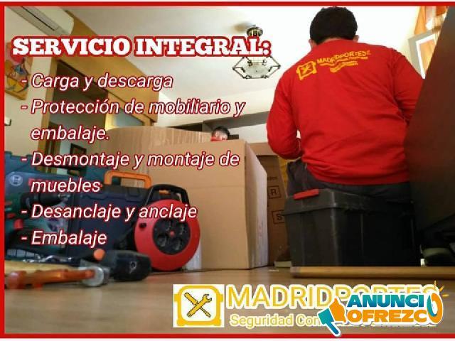 ANUNCIOS MUDANZAS + PUNTO LIMPIO MADRID