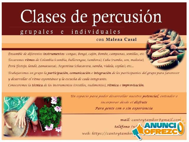 Clases de Percusion