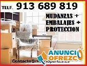 SERVICIO:MUDANZAS Y TRANSPORTES MADRID