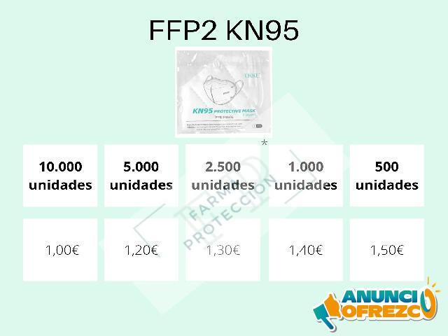 Mascarillas FFP2 KN95 EKKE