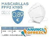 Mascarillas FFP2 KN95 50 DNW