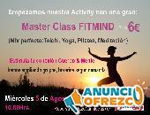 Master Class FitMind a 6€ en Fuengirola Mierc 5Agosto 20hr
